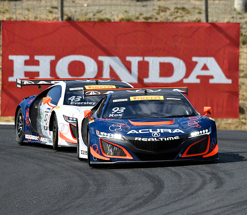 Pirelli World Challenge<br /> Grand Prix of Sonoma<br /> Sonoma Raceway, Sonoma, CA USA<br /> Friday 15 September 2017<br /> Peter Kox, Ryan Eversley<br /> World Copyright: Richard Dole<br /> LAT Images<br /> ref: Digital Image RD_NOCAL_17_018