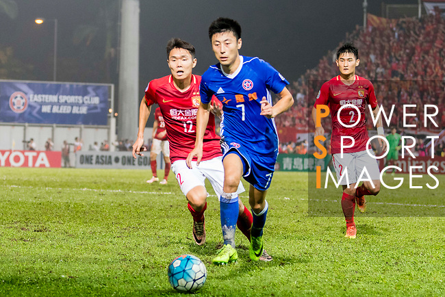 Eastern SC (HKG) vs Guangzhou Evergrande FC (CHN) during the AFC Champions League 2017 Group G match at the Mongkok Stadium on 25 April 2017, in Hong Kong, China. Photo by Chung Yan Man / Power Sport Images