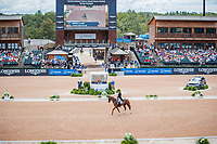 AUS-Bill Levett rides Lassban Diamond Lift during the FEI World Team and Individual Eventing Championship Dressage. 2018 FEI World Equestrian Games Tryon. Friday 14 September. Copyright Photo: Libby Law Photography