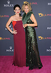 Eloísa Knife Maturén and Julia Trappe attends the Los Angeles Philharmonic Opening Night Gala to celebrate music director Gustavo Dudamel and famed Peruvian tenor Juan Diego Florez at The Walt Disney Concert Hall in Los Angeles, California on October 07,2010                                                                               © 2010 Hollywood Press Agency