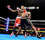 HOLLYWOOD, FL - SEPTEMBER 05: Terrance Marbra (R), fight Ernest Zeus Mazgck during the World Heavyweight Champions Fight Night at Hard Rock Live! in the Seminole Hard Rock Hotel & Casino on September 5, 2015 in Hollywood, Florida. Briggs won the bout by second round KO. ( Photo by Johnny Louis / jlnphotography.com )