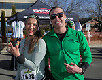 Yessenia and Margarito the 7th annual Leprechaun Race in downtown Reno, Nevada on Sunday, March 17, 2019.