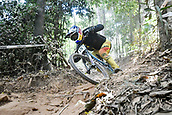 8th September 2017, Smithfield Forest, Cairns, Australia; UCI Mountain Bike World Championships; Marcelo Gutierrez Villegas (COL) riding for Giant Factory Off-Road Team during the downhill official timed session;