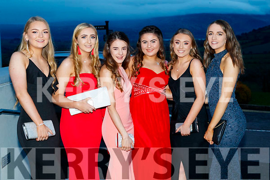 Ali Guerin, Caoimhe Edwards, Molly O'Keeffe, Charlotte O'Halloran, Ava O'Halloran and Rebecca Conway, Mercy Mounthawk Secondary School, Tralee, enjoying the TY Ball at Ballyroe Heights Hotel, Tralee, on Saturday night last.