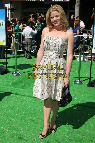 """MEGAN HILTY.Attending """"Shrek the Third"""" Los Angeles Premiere at Mann's Village Theatre, Westwood, California, USA, .6 May 2007 .full length.CAP/ADM/BP.©Byron Purvis/AdMedia/Capital Pictures."""