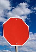 Stop blank