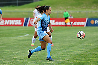 Piscataway, NJ - Sunday April 30, 2017: Taylor Lytle during a regular season National Women's Soccer League (NWSL) match between Sky Blue FC and FC Kansas City at Yurcak Field.