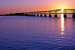 Old Bahia Honda bridge at sunrise, Florida Keys