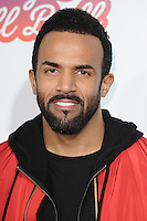 Craig David<br /> at the Jingle Bell Ball 2016, O2 Arena, Greenwich, London.<br /> <br /> <br /> &copy;Ash Knotek  D3208  03/12/2016
