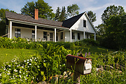 Robert Frost Homestead in Franconia, New Hampshire USA.