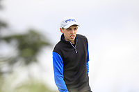 Aaron Ryan (Thurles) on the 2nd tee during Round 2 of The East of Ireland Amateur Open Championship in Co. Louth Golf Club, Baltray on Sunday 2nd June 2019.<br /> <br /> Picture:  Thos Caffrey / www.golffile.ie<br /> <br /> All photos usage must carry mandatory copyright credit (© Golffile | Thos Caffrey)