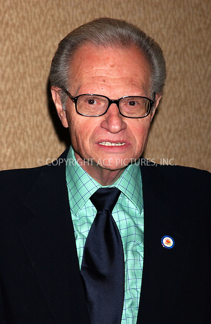 WWW.ACEPIXS.COM . . . . . ....NEW YORK, JUNE 14, 2005....Larry King at the National Father's Council Luncheon held at the Marriott Marquis.....Please byline: KRISTIN CALLAHAN - ACE PICTURES.. . . . . . ..Ace Pictures, Inc:  ..Craig Ashby (212) 243-8787..e-mail: picturedesk@acepixs.com..web: http://www.acepixs.com