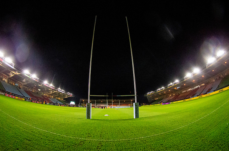 A general view of The Stoop, home of Harlequins<br /> <br /> Photographer Bob Bradford/CameraSport<br /> <br /> Gallagher Premiership Round 9 - Harlequins v Exeter Chiefs - Friday 30th November 2018 - Twickenham Stoop - London<br /> <br /> World Copyright &copy; 2018 CameraSport. All rights reserved. 43 Linden Ave. Countesthorpe. Leicester. England. LE8 5PG - Tel: +44 (0) 116 277 4147 - admin@camerasport.com - www.camerasport.com
