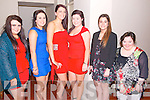 Clodagh O'Sullivan, Kelly O'Sullivan, Melissa O'Riordan, Rachel O'Sullivan, Laura Dominguez and Angela Kelliher (all from Kilcumin) enjoyed the South West Harriers Hunt Clubs first annual dinner dance in Darby O'Gills Country House, Lissivigeen last Saturday night.