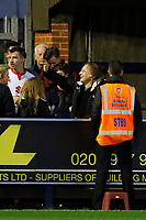 Milton Keynes Dons FC chairman Peter Winkleman seen during the Sky Bet League 1 match between AFC Wimbledon and MK Dons at the Cherry Red Records Stadium, Kingston, England on 22 September 2017. Photo by Carlton Myrie / PRiME Media Images.