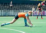 AMSTELVEEN  - Willemijn Bos (Gro)    . Hoofdklasse hockey dames ,competitie, dames, Amsterdam-Groningen (9-0) .     COPYRIGHT KOEN SUYK