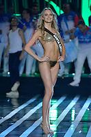 SAO PAULO, SP, 18.11.2015 - MISS BRASIL 2015: Candidata Sabrina Meyer de Santa Catarina (SC) se apresenta durante concurso Miss Brasil  realizado na noite desta quarta-feira (18) no Citibank Hall em São Paulo.  (Foto: Levi Bianco/Brazil Photo Press)