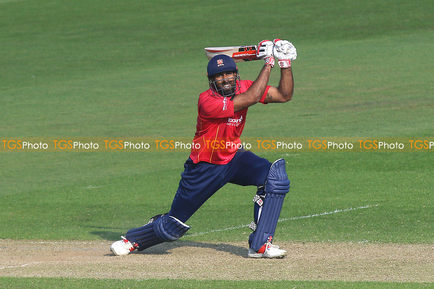 Varun Chopra hits out for Essex during Glamorgan vs Essex Eagles, Royal London One-Day Cup Cricket at the SSE SWALEC Stadium on 7th May 2017