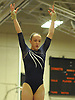 Miranda Lund of Plainview JFK performs on the balance beam during the Nassau County varsity gymnastics individual championships and state qualifiers at Hicksville High School on Tuesday, Feb. 9, 2016. She won the all-around with a score of 37.625.