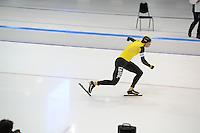 SCHAATSEN: HEERENVEEN: IJsstadion Thialf, 27-12-2015, KPN NK Afstanden, 5000m Heren, start Sven Kramer, ©foto Martin de Jong