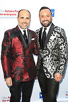 LOS ANGELES - JUN 11: Nick Verreos, David Paul at The Actors Fund's 22nd Annual Tony Awards Viewing Party at the Skirball Cultural Center on June 10, 2018 in Los Angeles, CA