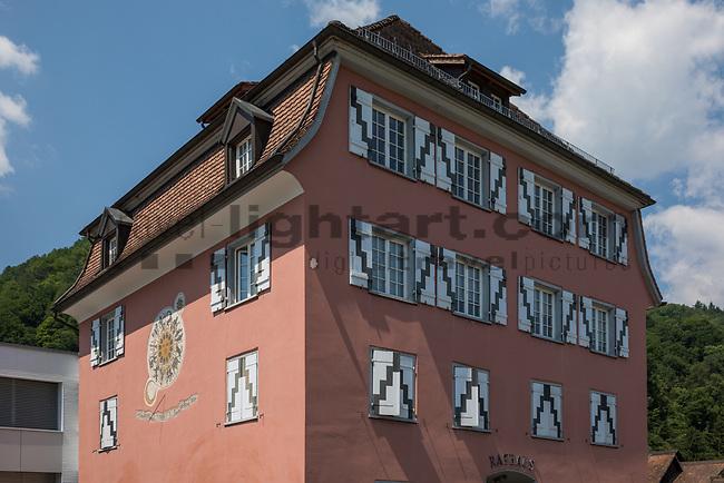 Rathaus, Town-hall, Sevelen, St. Gallen, SG, Schweiz, Switzerland.<br /> <br /> Foto: Paul Trummer