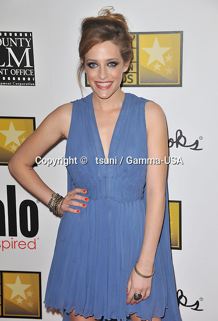 Carly Chaikin   arriving at Broadcast Tel. Awards 3rd Critic s Choice at the Beverly Hilton Hotel in Los Angeles.