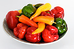 A bowl of peppers