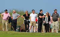 Supporters at the 15th tee during Round 4 of the East of Ireland Amateur Open Championship sponsored by City North Hotel at Co. Louth Golf club in Baltray on Monday 6th June 2016.<br /> Photo by: Golffile   Thos Caffrey