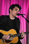 LOS ANGELES, CA. - March 18: John Mayer performs at the Ferrari 458 Italia Brings Funds for Haiti Relief event at Fleur de Lys on March 18, 2010 in Los Angeles, California.