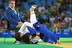 (L-R) Merenciano Herrero Maria Monica (ESP), Junko Hirose (JPN), <br /> SEPTEMBER 9, 2016 - Judo : <br /> Women's -57kg Contests for Bronze Medal <br /> at Carioca Arena 3<br /> during the Rio 2016 Paralympic Games in Rio de Janeiro, Brazil.<br /> (Photo by AFLO SPORT)