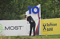 Nathan Holman (AUS) on the 10th tee during Round 2 of the D+D Real Czech Masters at the Albatross Golf Resort, Prague, Czech Rep. 02/09/2017<br /> Picture: Golffile | Thos Caffrey<br /> <br /> <br /> All photo usage must carry mandatory copyright credit     (&copy; Golffile | Thos Caffrey)