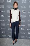 Model Martha Hunt arrives at the WSJ. Magazine 2017 Innovator Awards at The Museum of Modern Art in New York City, on November 1, 2017.
