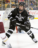 Alex Velischek (PC - 27) left the Friars for the 2010-11 season before returning this season. - The Boston College Eagles defeated the Providence College Friars 4-2 in their Hockey East semi-final on Friday, March 16, 2012, at TD Garden in Boston, Massachusetts.