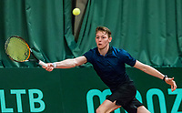 Wateringen, The Netherlands, March 16, 2018,  De Rhijenhof , NOJK 14/18 years, Nat. Junior Tennis Champ.  Zachary Elsinga (NED)<br />  Photo: www.tennisimages.com/Henk Koster