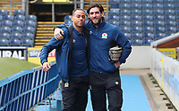 Blackburn Rovers' Elliott Bennett and Blackburn Rovers' Danny Graham arrive at the ground for todays match<br /> <br /> Photographer Rachel Holborn/CameraSport<br /> <br /> The EFL Sky Bet League One - Blackburn Rovers v Blackpool - Saturday 10th March 2018 - Ewood Park - Blackburn<br /> <br /> World Copyright &copy; 2018 CameraSport. All rights reserved. 43 Linden Ave. Countesthorpe. Leicester. England. LE8 5PG - Tel: +44 (0) 116 277 4147 - admin@camerasport.com - www.camerasport.com