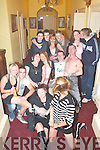 18TH: Maggie May Coffey, Killorglin (seated centre) celebrates her 18th birthday with her family and friends in The Manor Inn, Killorglin, last Saturday night..