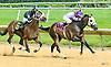 Persie winning at Delaware Park on 7/8/17