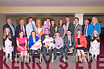 Baby Kieran Cotter with his parents Kevin & Sinead Cotter, Strand, Newcatlewest  and sister Emma & brother Daniel who was christened at Monagea Church by Fr Duaigh on Sunday last and afterwards at the Listowel Arms Hotel.