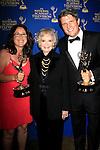LOS ANGELES - JUN 20: Anne Fox, June Lockhart, Patrick Greene at The 41st Daytime Creative Arts Emmy Awards Gala in the Westin Bonaventure Hotel on June 20th, 2014 in Los Angeles, California