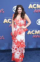 15 April 2018 - Las Vegas, NV -  Lady Antebellum, Hillary Scott.  2018 ACM Awards arrivals at MGM Grand Garden Arena. <br /> CAP/ADM/MJT<br /> &copy; MJT/ADM/Capital Pictures