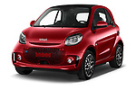 2020 Smart EQ-fortwo Comfort-Plus 3 Door Hatchback Angular Front automotive stock photos of front three quarter view