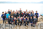 SWIMMERS:Kingdom Club Swimmers who took part in the Swim around the Fenit Lighthouse on Saturday.