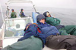 Earthwatchers Sleeping Out In The Open Ocean Waiting For Sharks To Be Lured In