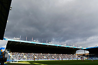 Dark clouds over Hillsborough during The Emirates FA Cup Fifth Round match between Sheffield Wednesday and Swansea City at Hillsborough, Sheffield, England, UK. Saturday 17 February 2018