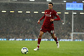 17th March 2019, Craven Cottage, London, England; EPL Premier League football, Fulham versus Liverpool; Trent Alexander-Arnold of Liverpool