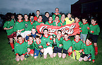 Tullyallen alter servers football team winners of the Drogheda Concentrates alter servers football final.Pic Fran caffrey