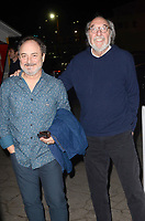 """LOS ANGELES - MAR 14:  Kevin Pollak, James L. Brooks at the """"The Zen Diaries of Garry Shandling"""" Premiere at Avalon on March 14, 2018 in Los Angeles, CA"""