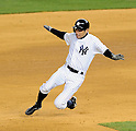Ichiro Suzuki (Yankees), APRIL 9, 2014 - MLB : MLB game between the New York Yankees and the Baltimore Orioles at Yankee Stadium in The Bronx, New York, United States. (Photo by AFLO)