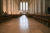 The Nave of Guildford Cathedral looking away from the High Altar.